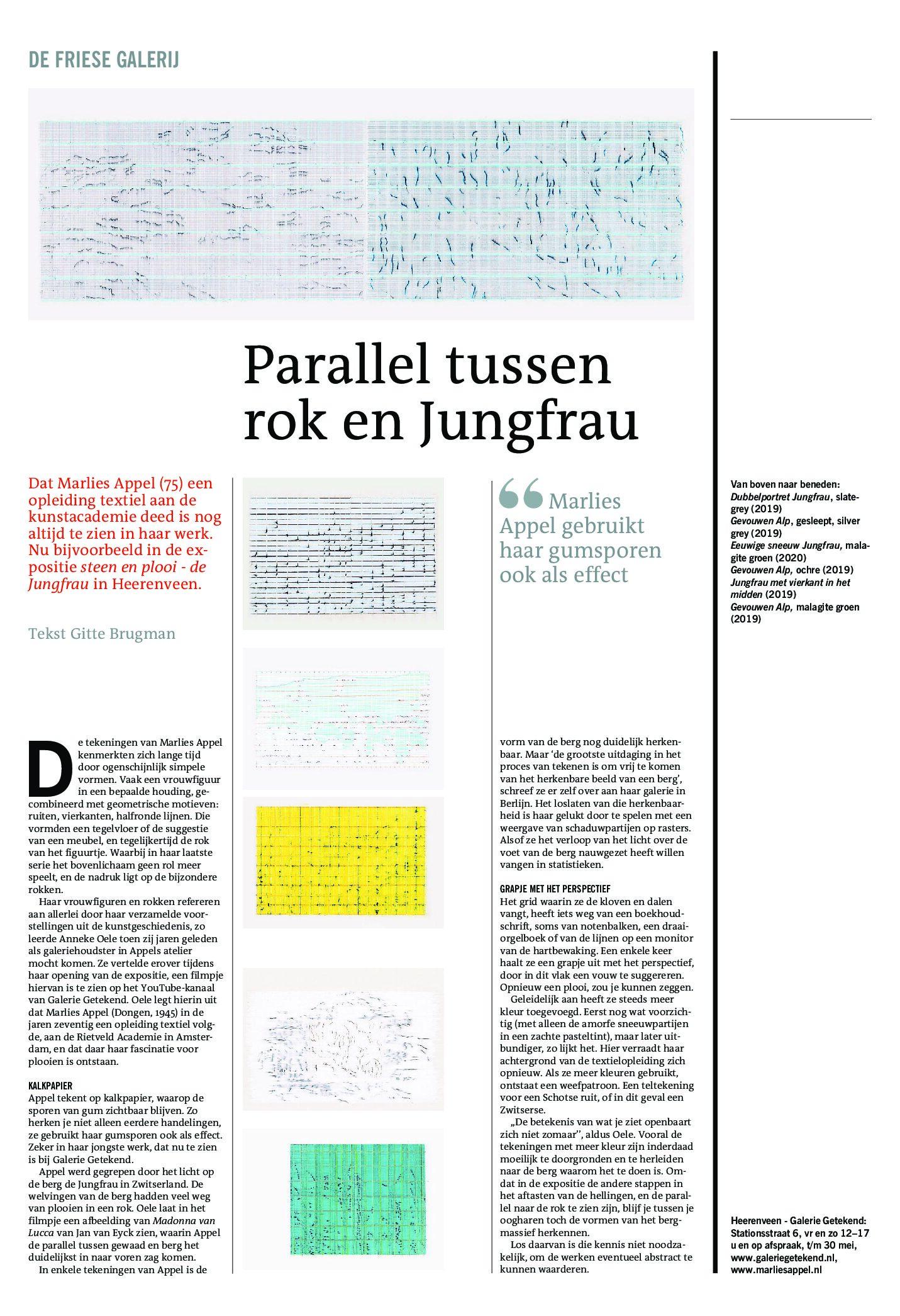 Lees meer over het artikel Parallel tussen rok en Jungfrau